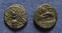 Ancient Coins - Ionia, Ephesos 500-450 BC, Tetartemorion