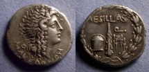 Ancient Coins - Macedonia, Aesillas 95-65 BC, Tetradrachm