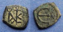 Ancient Coins - Byzantine Empire, Justin II 565-578, Pentanummium