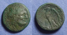 Ancient Coins - Bruttium, The Brettii 216-208, AE24