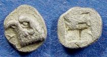 Ancient Coins - Aeolis, Kyme 480-450 BC, Hemiobol