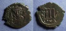 Ancient Coins - Byzantine Empire, Tiberius II Constantine 578-582, Follis