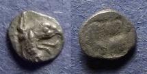 Ancient Coins - Ionia, Teos Circa 450 BC, Tetartemorion