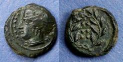 Ancient Coins - Sicily, Himera Circa 420 BC, Hemilitron