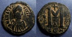 Ancient Coins - Byzantine Empire, Anastasius 491-518, Follis