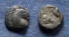Ancient Coins - Aeolis, Kyme Circa 500 BC, Hemiobol