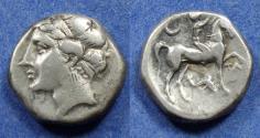 Ancient Coins - Campano-Tarentine, Tarentum mint 281-228 BC, Nomos