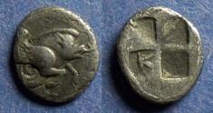 Ancient Coins - Ionia, Klazomenai Circa 480 BC, Diobol