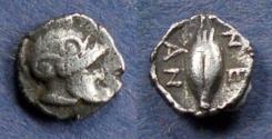 Ancient Coins - Troas, Neandria Circa 350 BC, Hemiobol