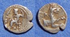 Ancient Coins - Lycaonia, Laranda Circa 300 BC, Silver Obol