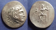 Ancient Coins - Aspendos Pamphylia, In the name of Alexander III 210/209 BC, Tetradrachm