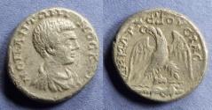 Ancient Coins - Caesarea Maritima, Judaea, Diadumenian 217/8, Tetradrachm