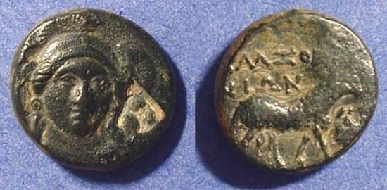 Ancient Coins - Klazomenai Ionia AE16 - 375-340 BC