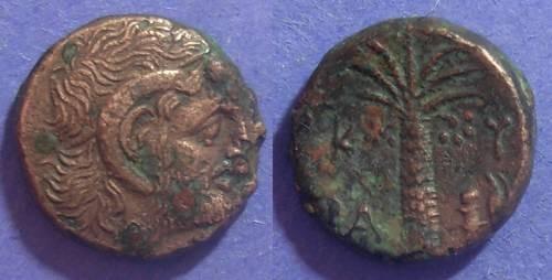 Ancient Coins - Kyrene, Kyrenaica 300-277 BC, AE18