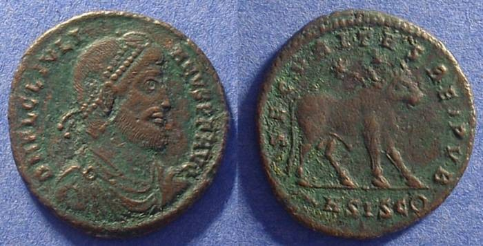 Ancient Coins - Julian II as Augustus 361-363 AD AE-1
