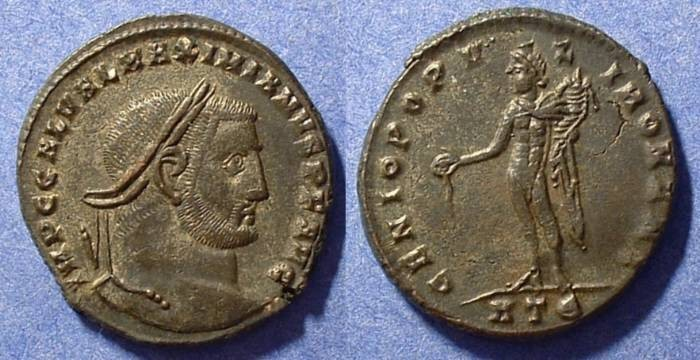 Ancient Coins - Galerius (As Augustus) 305-311 AD Follis