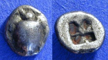 Ancient Coins - Aegina - Obol - Circa 500 BC - choice