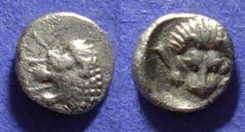 Ancient Coins - Mylasa Caria – Obol – 420-390BC