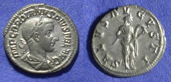 Ancient Coins - Roman Empire - Gordian III 238-244 - Denarius