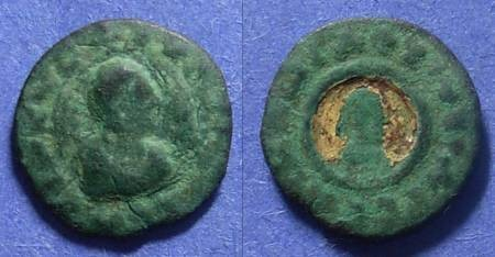 Ancient Coins - Axum, Ouazebas Circa 350-400, AE15