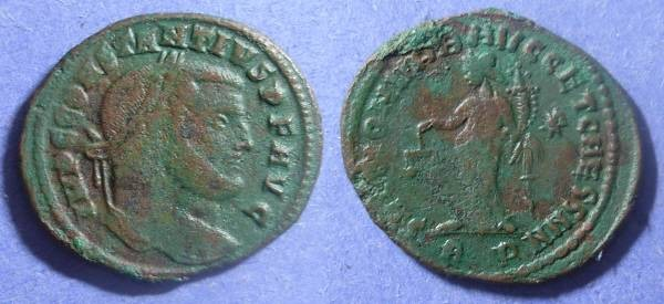 Ancient Coins - Roman Empire, Constantius I (as Augustus) 305-6, Follis