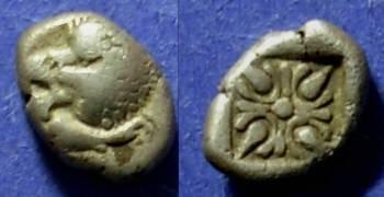 Ancient Coins - Ionia, Miletos Circa 500 BC, 1/12 Stater