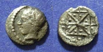 Ancient Coins - Thraco-Macedonian, Uncertain Circa 450 BC, Hemiobol