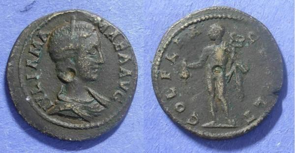 Ancient Coins - Deultum Thrace, Julia Mamaea 222-235, AE24
