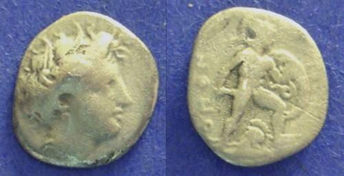 Ancient Coins - Lokris Opuntii,  338-316 BC, Triobol