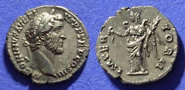 Ancient Coins - Antoninus Pius 138-161AD Denarius – Choice!
