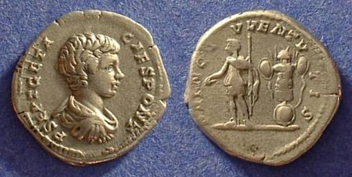 Ancient Coins - Geta (as Caesar) 198-208 Denarius