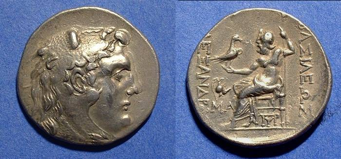Ancient Coins - Macedonian Kingdom Tetradrachm 175-125 BC - In the name of Alexander III