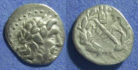 Ancient Coins - Achaian League, Megara Megaris 175-168 BC, Hemidrachm