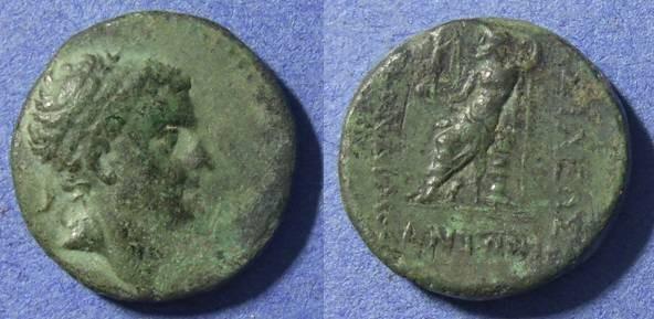 Ancient Coins - Kingdom of Cilicia, Tarkondimotos I 39-31 BC, AE20