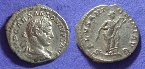 Ancient Coins - Elagabalus 218-222AD Denarius