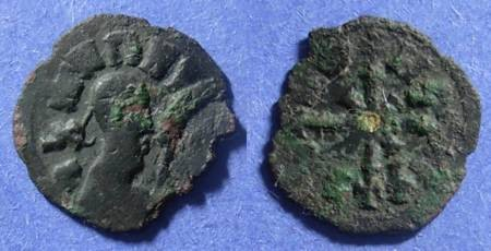 Ancient Coins - Axum, Wazena 525-550, AE17