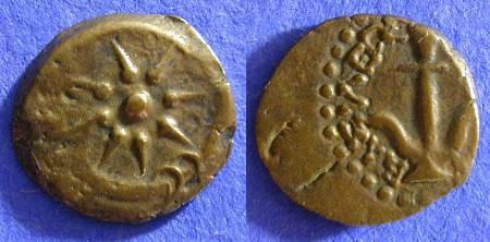 Ancient Coins - Judaea - Alexander Jannaeus 103-76BC Prutah