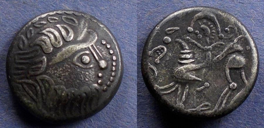 Ancient Coins - Celtic - Danube Region, Kapostal type Circa 150 BC, Tetradrachm