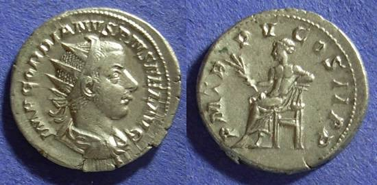 Ancient Coins - Gordian III 238-244AD Antoninianus