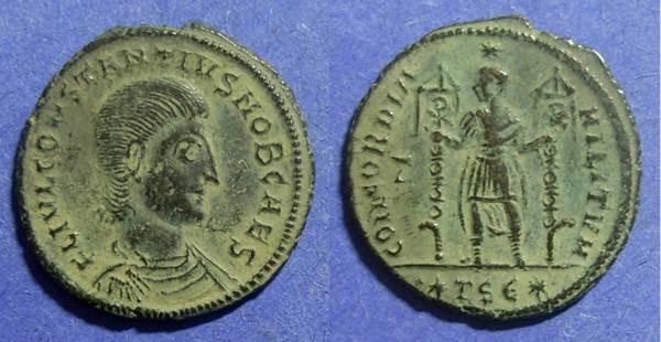 Ancient Coins - Roman Empire, Constantius Gallus 351-354, Centenionalis