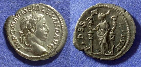 Ancient Coins - Severus Alexander 222-235AD Denarius