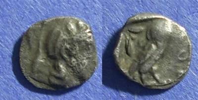 Ancient Coins - Athens,  454-494BC, Obol