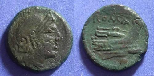 Ancient Coins - Roman Republic, Sicilian mint 214-2 BC, Uncia