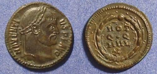 Ancient Coins - Maxentius  306-312AD  Quarter Follis