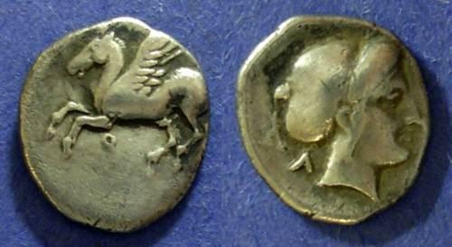 Ancient Coins - Corinth,  Circa 325 BC, Drachm