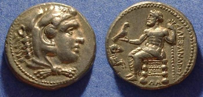 Ancient Coins - Macedonian Kingdom - Alexander III (the Great) 336-323 Lifetime Tetradrachm