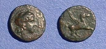 Ancient Coins - Syracuse Sicily AE-10 336-317 BC