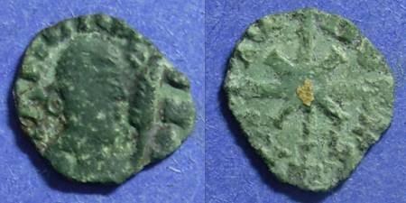 Ancient Coins - Axum  Wazena Circa 525-550 AE13 x 14