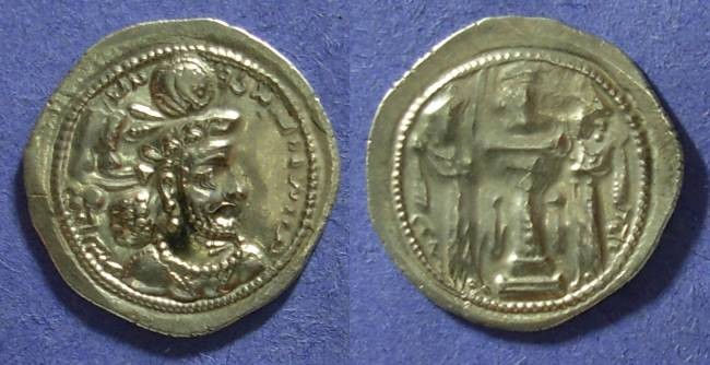 Ancient Coins - Sassanian Kingdom - Shapur III 383-388 Drachm