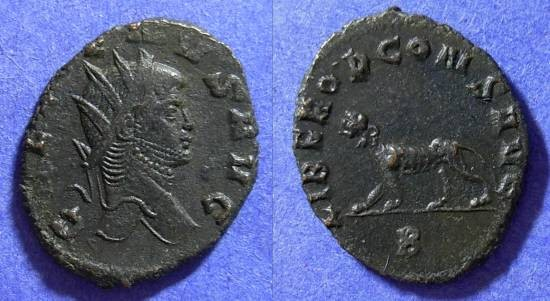Ancient Coins - Gallienus 253-268AD Antoninianus - Panther reverse